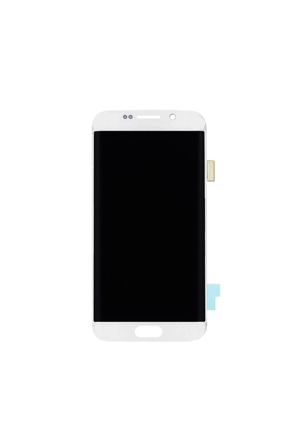 LCD Screen and Digitizer Assembly – Samsung S6 Edge White LCD Only