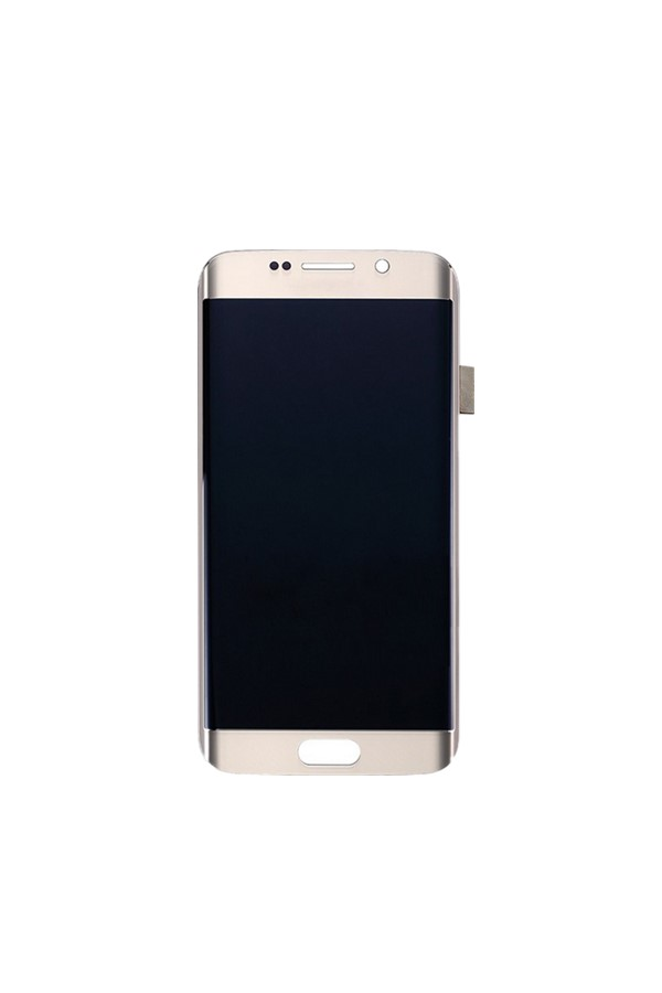 LCD Screen and Digitizer Assembly – Samsung S6 Edge (With frame) Black